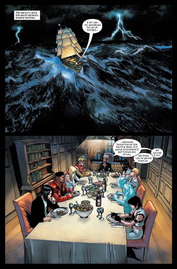 Interior preview page from MARAUDERS #20