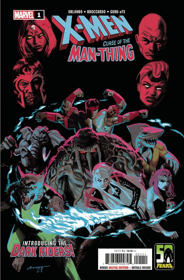 Cover image for X-MEN CURSE MAN-THING #1