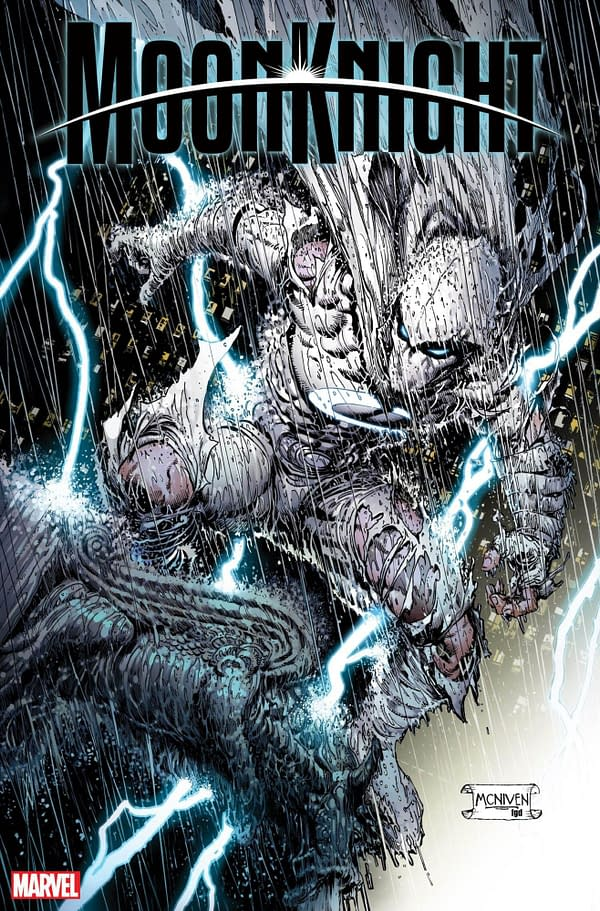 The cover to Moon Knight #1