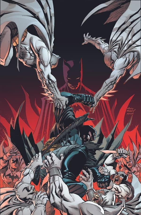 Cover image for BATMAN THE DETECTIVE #2 (OF 6) CVR B ANDY KUBERT CARD STOCK VAR