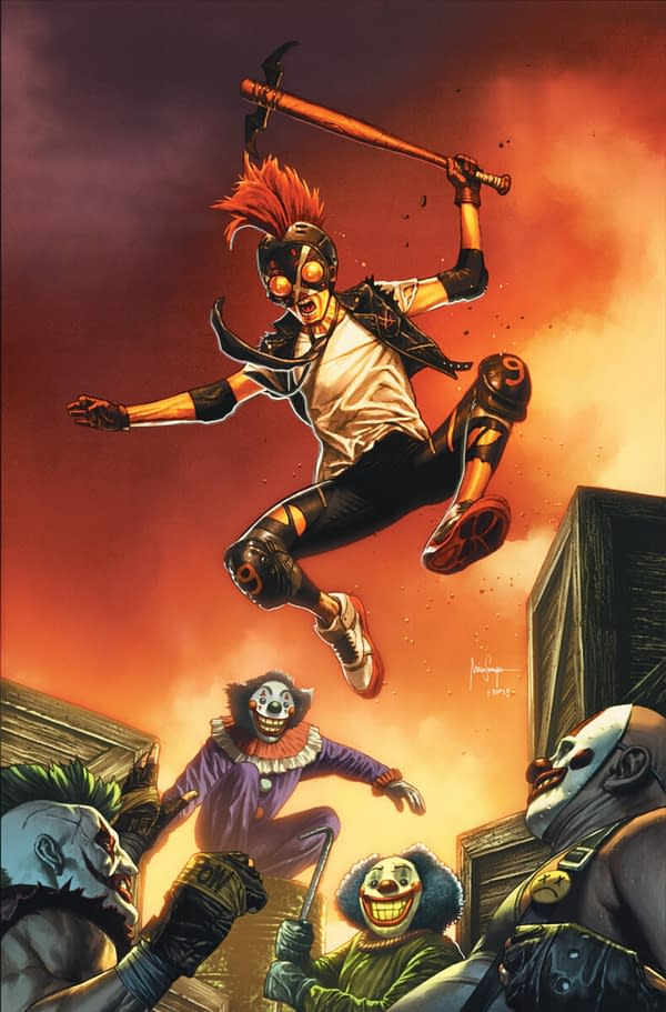 Clownhunter Vs Punchline From DC Comics in August