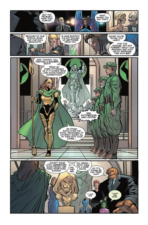Interior preview page from FANTASTIC FOUR #32