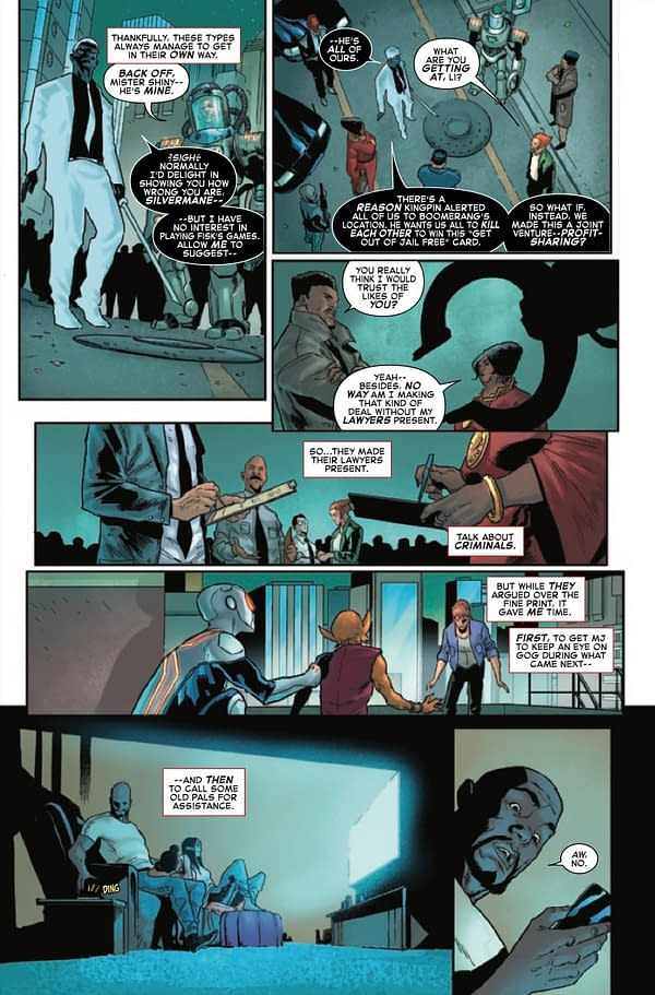 Interior preview page from GIANT-SIZE AMAZING SPIDER-MAN KINGS RANSOM #1