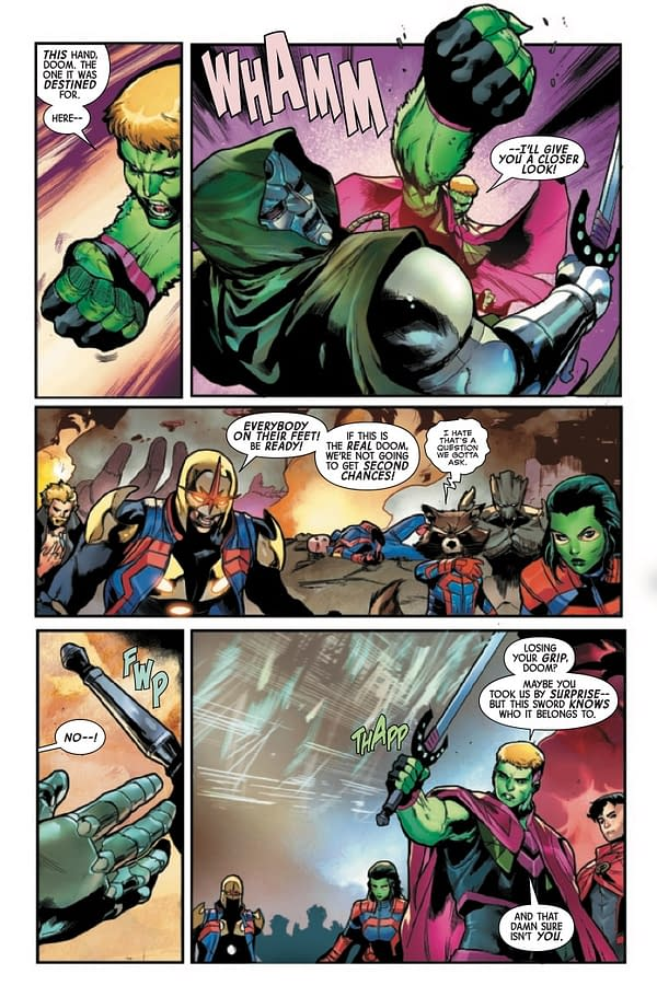Interior preview page from GUARDIANS OF THE GALAXY #14