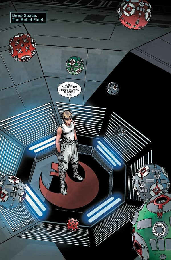 Interior preview page from STAR WARS #13