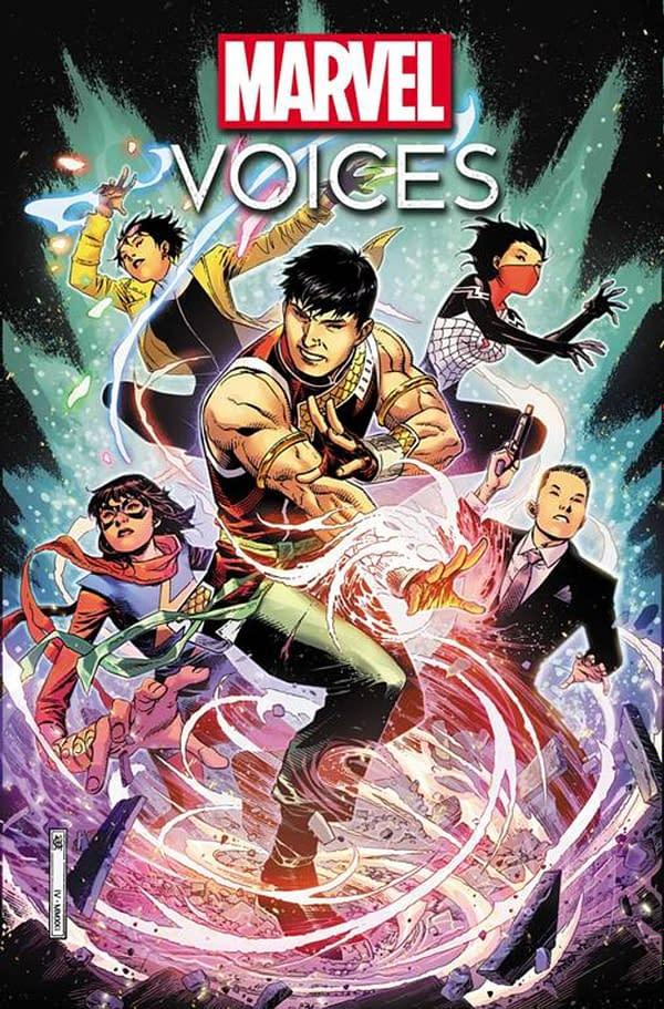 Marvel's Voices: Identity #1 Celebrates Asian Superheroes and Creators