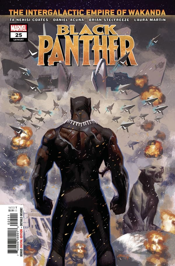 Cover image for BLACK PANTHER #25