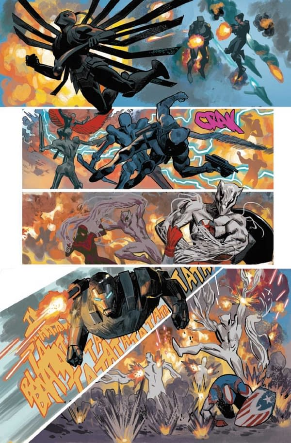 Interior preview page from BLACK PANTHER #25