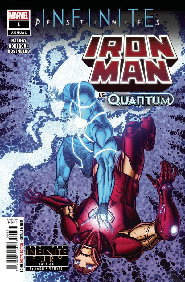 Cover image for IRON MAN ANNUAL #1 (RES)