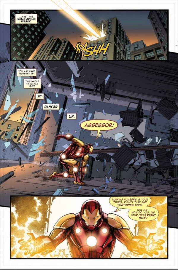 Interior preview page from IRON MAN ANNUAL #1 (RES)