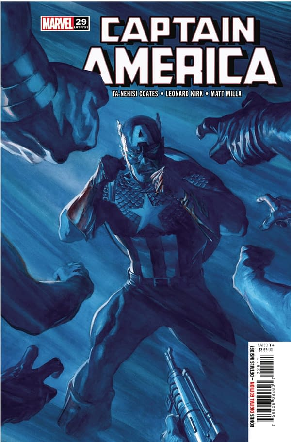 Cover image for CAPTAIN AMERICA #29