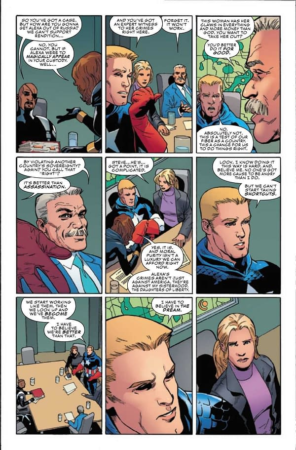 Interior preview page from CAPTAIN AMERICA #29