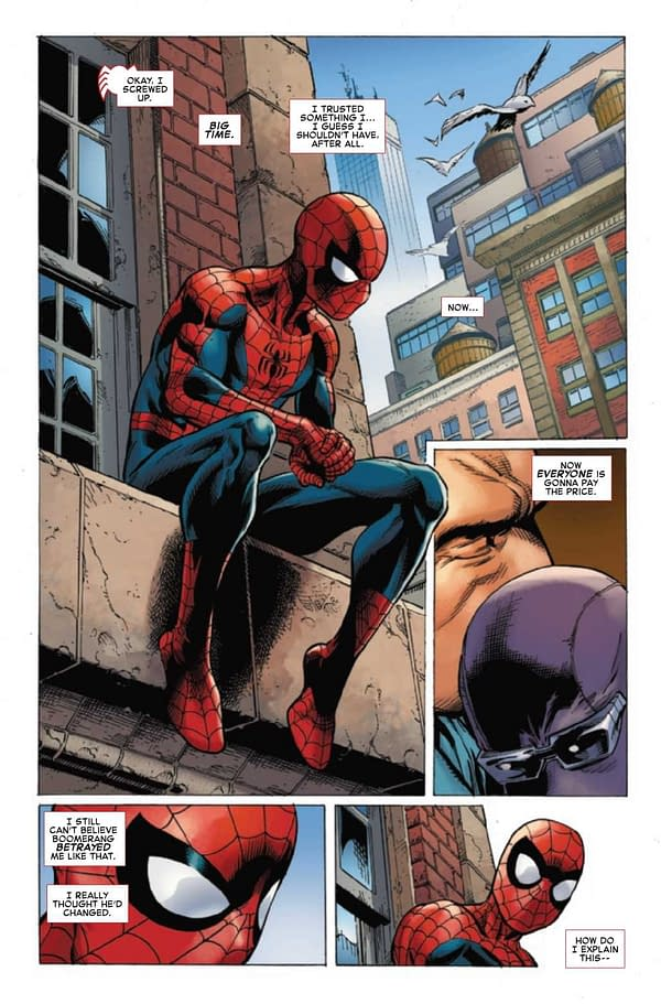 Interior preview page from AMAZING SPIDER-MAN #66