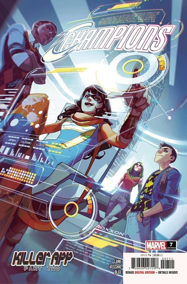 Cover image for CHAMPIONS #7