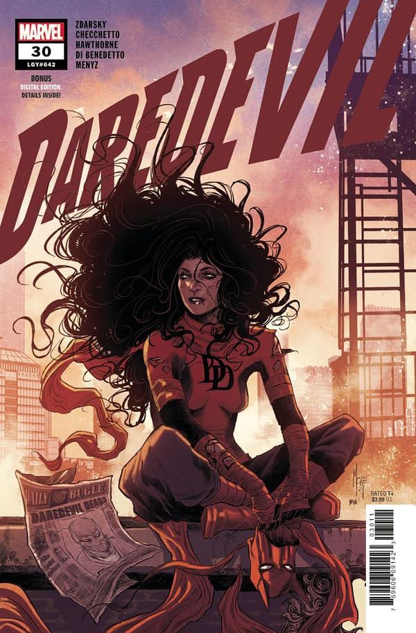 Cover image for DAREDEVIL #30