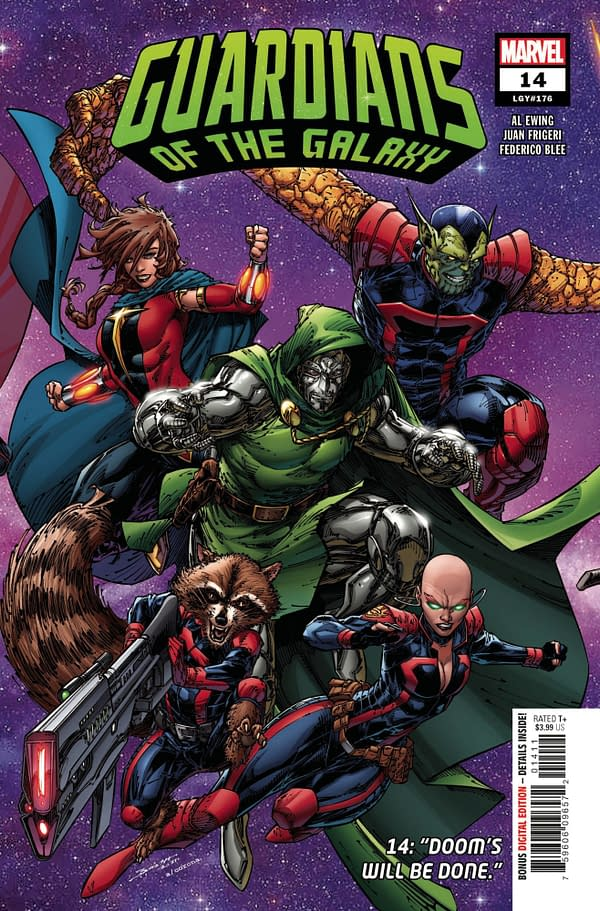 Cover image for GUARDIANS OF THE GALAXY #14