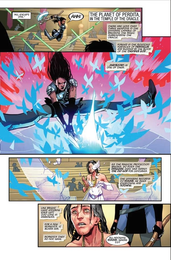 Interior preview page from MIGHTY VALKYRIES #2 (OF 5)