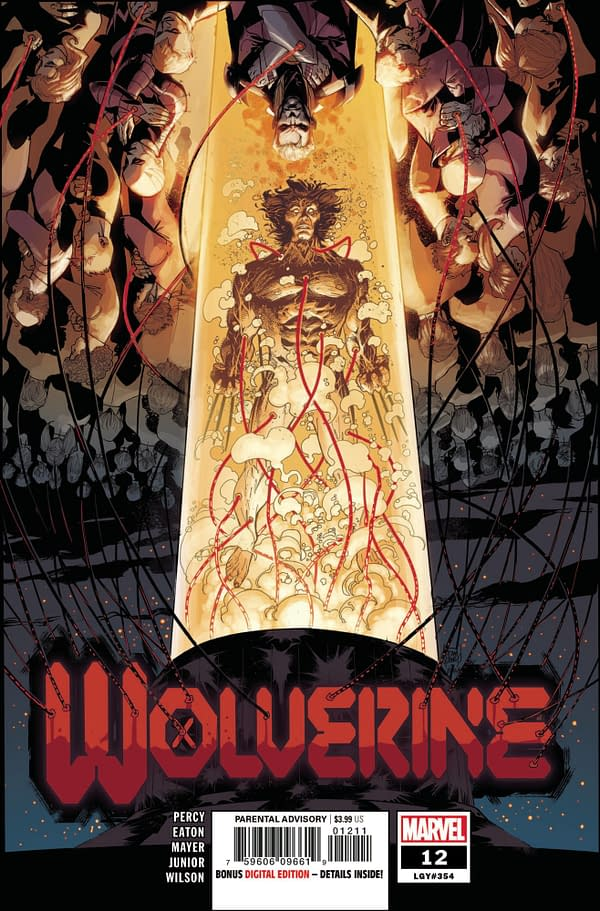 Cover image for WOLVERINE #12