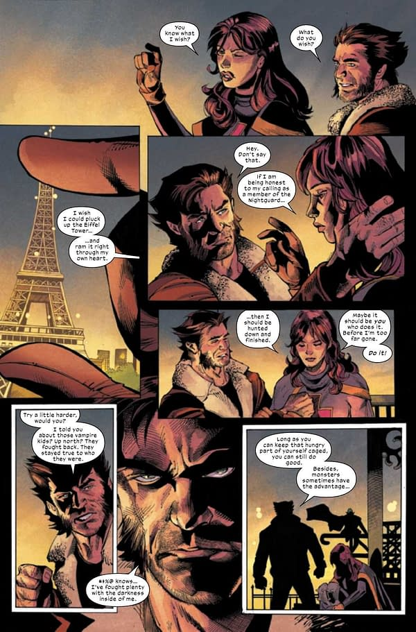Interior preview page from WOLVERINE #12