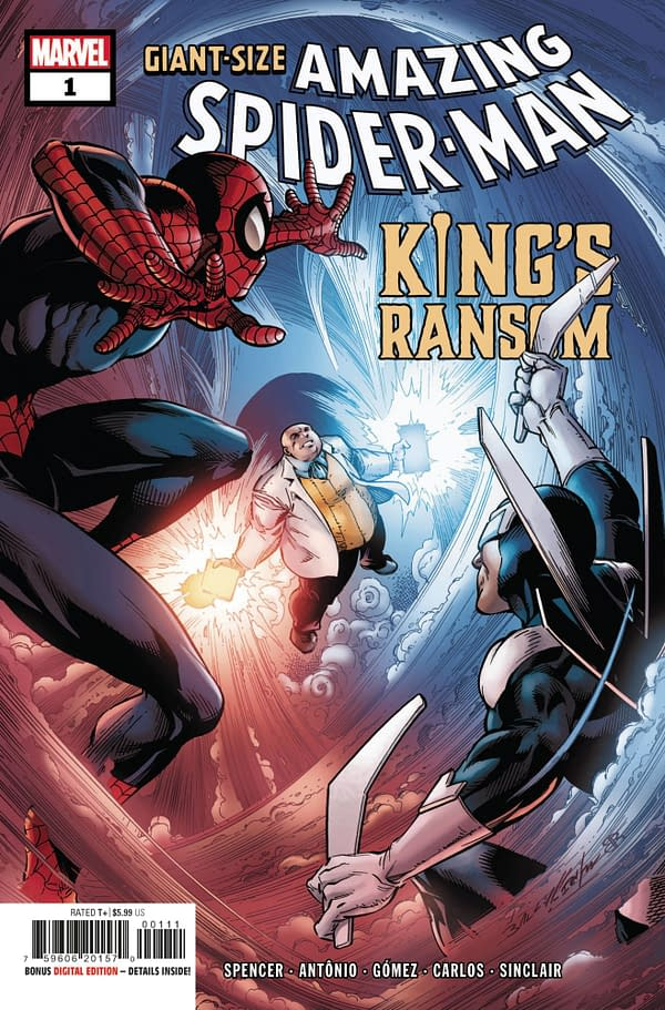Cover image for GIANT-SIZE AMAZING SPIDER-MAN KINGS RANSOM #1