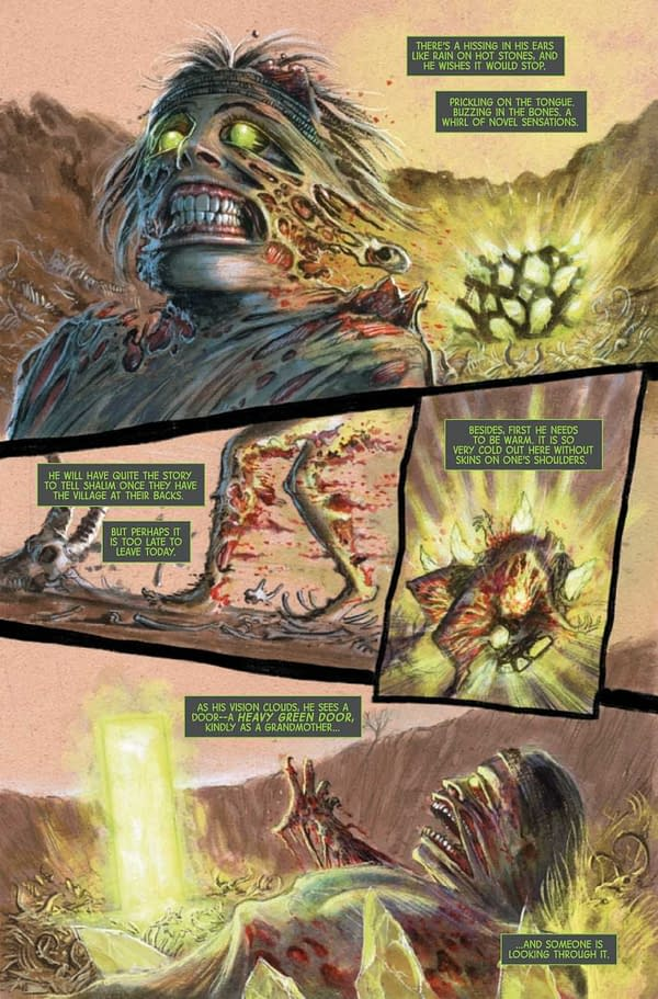 Interior preview page from IMMORTAL HULK TIME OF MONSTERS #1