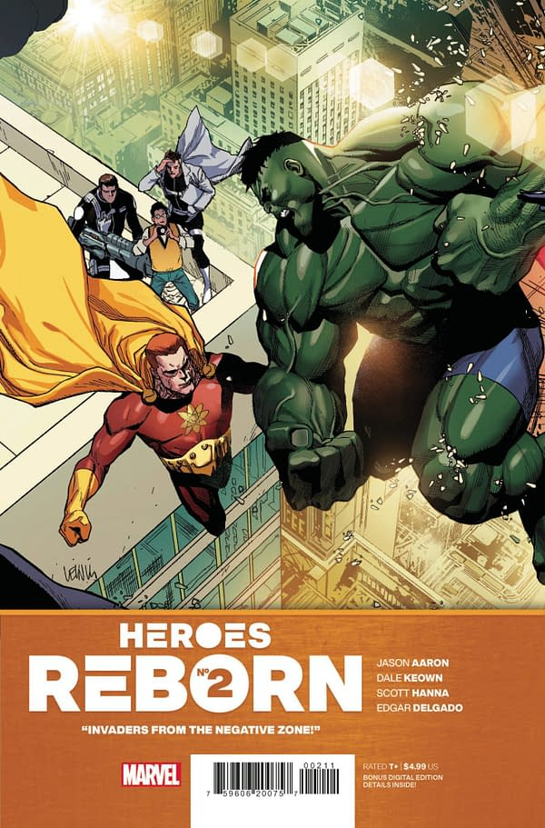 Cover image for HEROES REBORN #2 (OF 7)