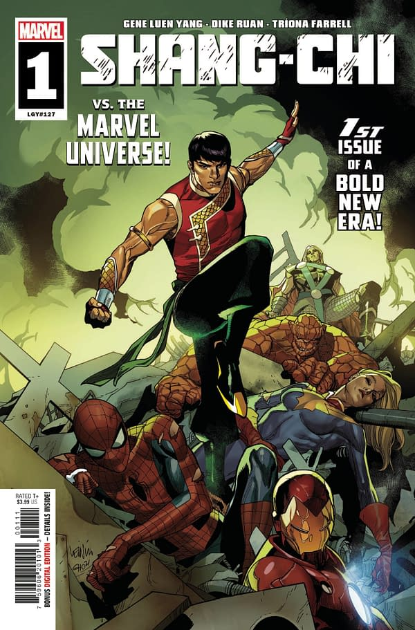 Cover image for SHANG-CHI #1