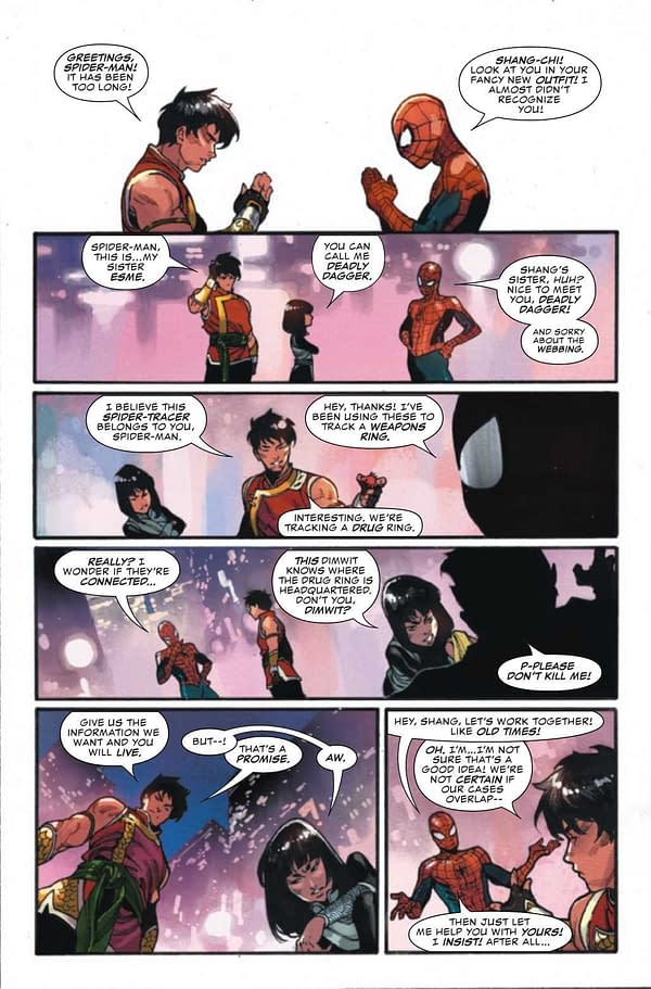 Interior preview page from SHANG-CHI #1