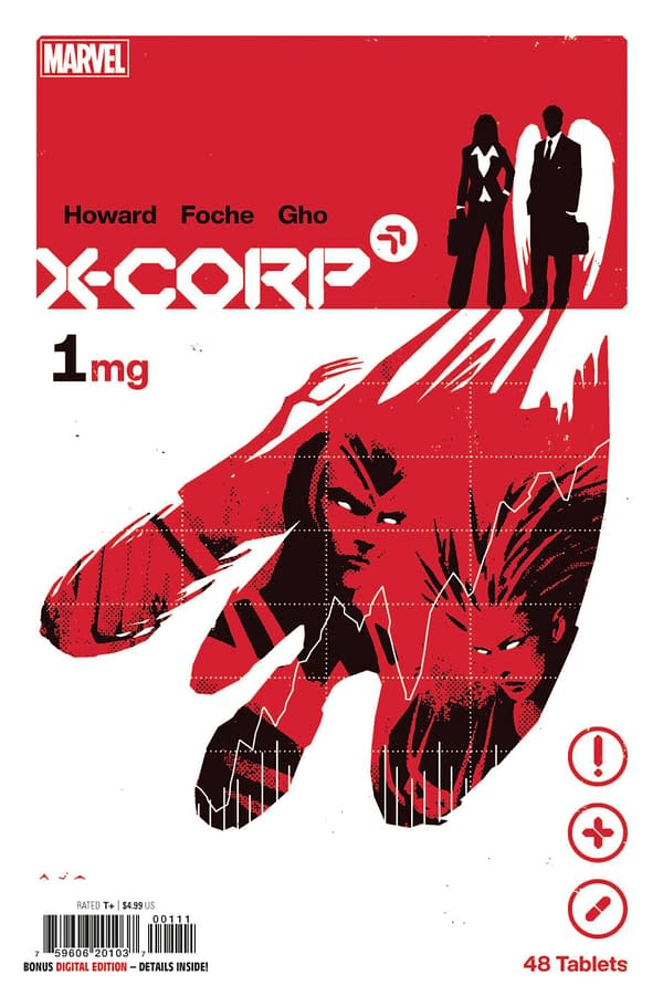 Cover image for X-CORP #1