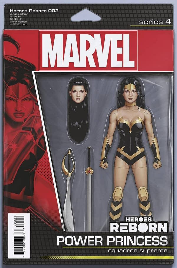 Cover image for HEROES REBORN #2 (OF 7) CHRISTOPHER ACTION FIGURE VAR