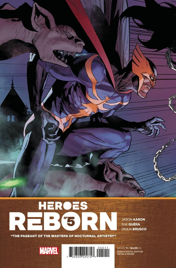Cover image for HEROES REBORN #5 (OF 7)