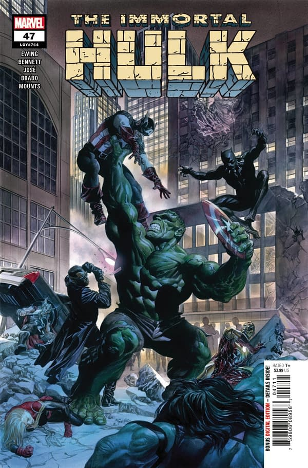 Cover image for IMMORTAL HULK #47