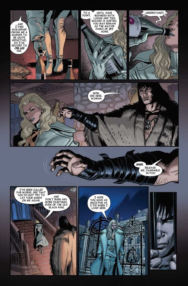Interior preview page from SAVAGE AVENGERS #21