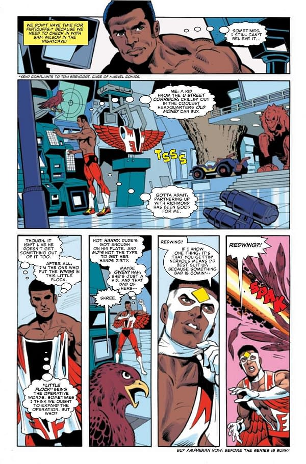 Interior preview page from HEROES REBORN MARVEL DOUBLE ACTION #1