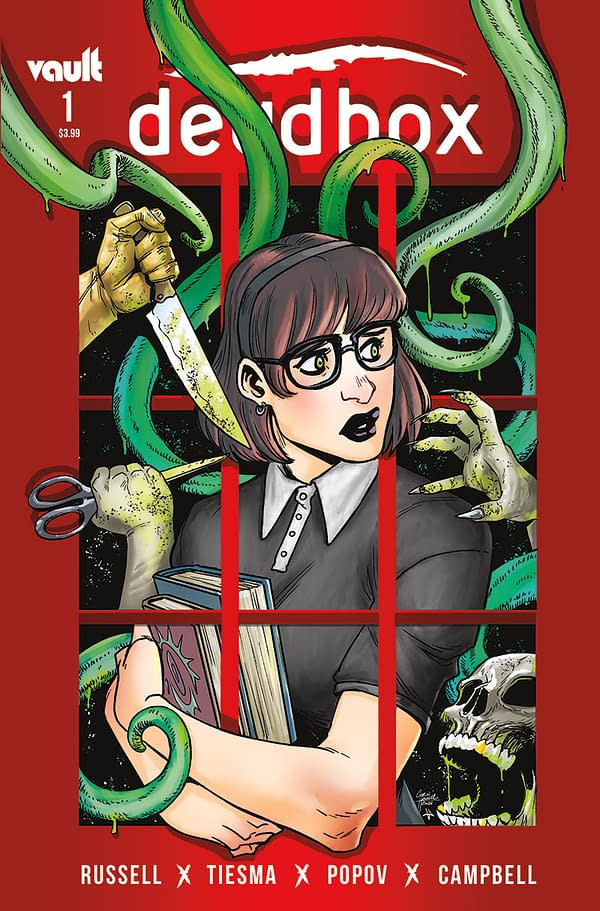 Mark Russell Launches Another in August, Deadbox, From Vault Comics