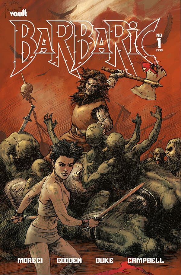 Barbaric#1 Is Vault's Most-Ordered Comic Yet At 35,000 Copies