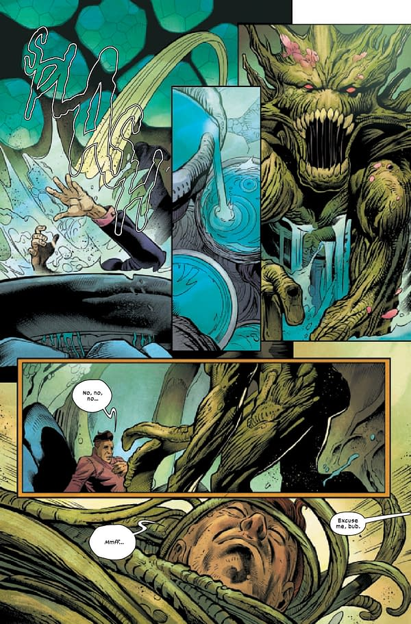Interior preview page from APR210787 WOLVERINE #13 GALA, by (W) Ben Percy (A) Scot Eaton (CA) Adam Kubert, in stores Wednesday, June 23, 2021 from MARVEL COMICS