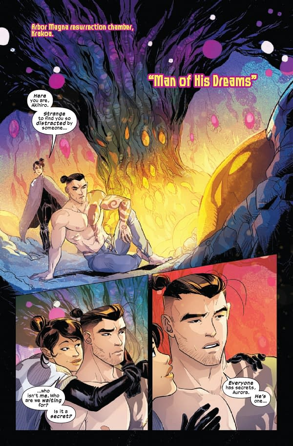 Interior preview page from MARVELS VOICES PRIDE #1
