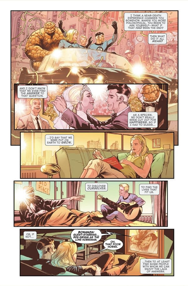 Interior preview page from FANTASTIC FOUR LIFE STORY #2 (OF 6)