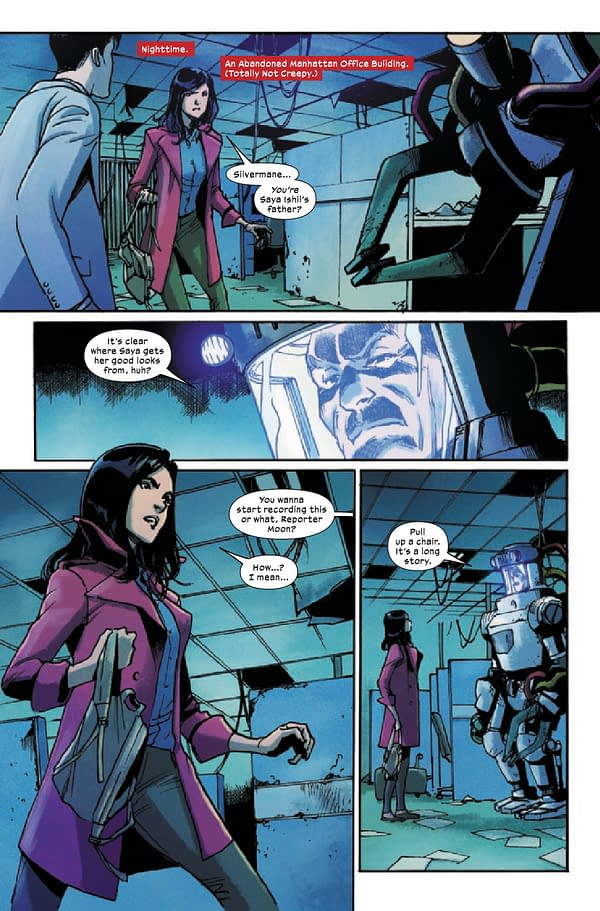 Interior preview page from SILK #4 (OF 5)