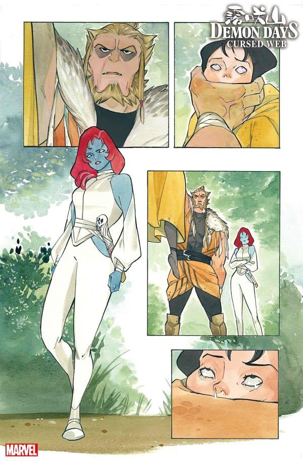 Demon Days: Part 3 Of Peach Momoko's Marvel Saga Hits This September