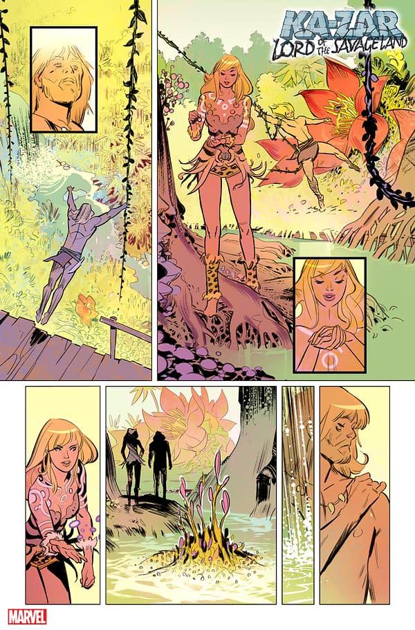 Zac Thompson & Germán García's Ka-Zar from Marvel Comics in September