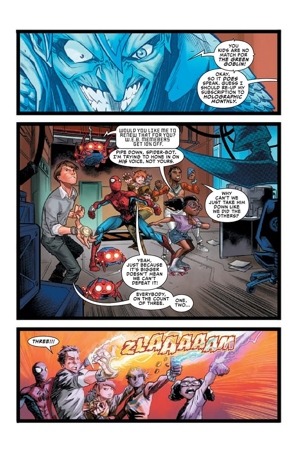 Interior preview page from WEB OF SPIDER-MAN #2 (OF 5)