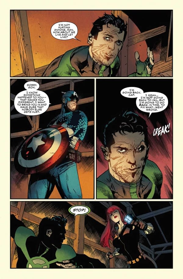 Interior preview page from CAPTAIN AMERICA ANNUAL #1 (RES)