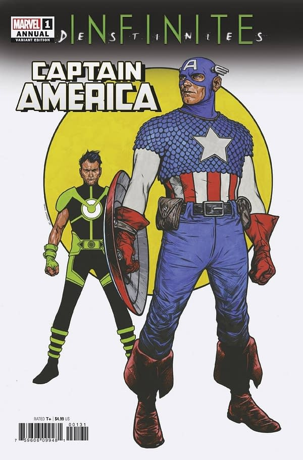 Cover image for CAPTAIN AMERICA ANNUAL #1 CHAREST VAR (RES)