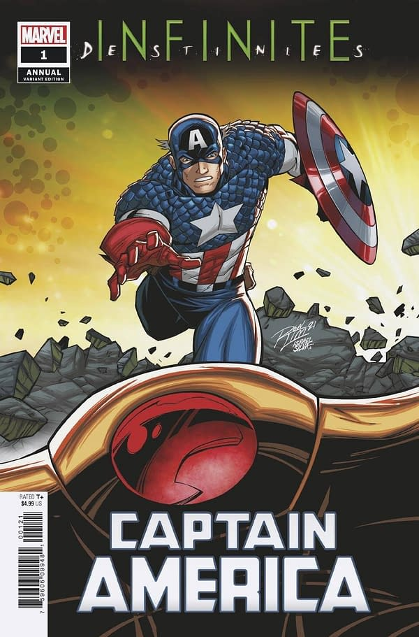 Cover image for CAPTAIN AMERICA ANNUAL #1 RON LIM CONNECTING VAR (RES)