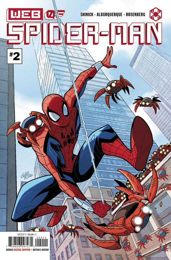 Cover image for WEB OF SPIDER-MAN #2 (OF 5)