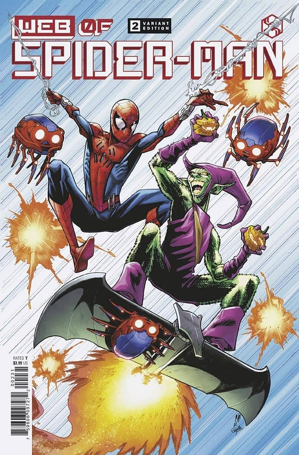 Cover image for WEB OF SPIDER-MAN #2 (OF 5) ALBURQUERQUE VAR
