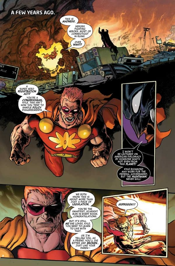 Interior preview page from HEROES REBORN #7 (OF 7)