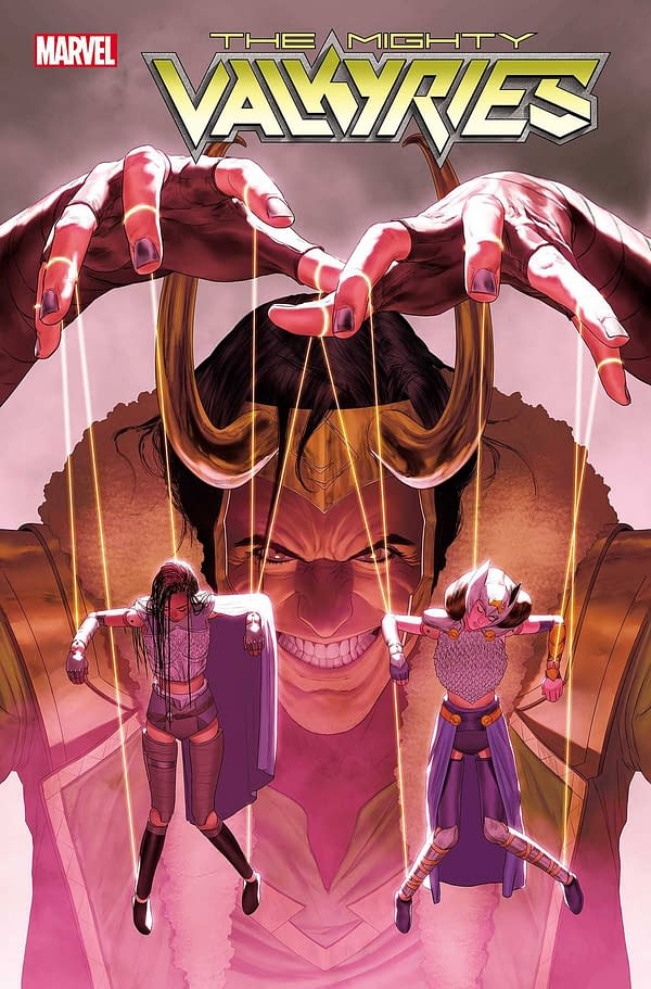 Cover image for MIGHTY VALKYRIES #3 (OF 5)